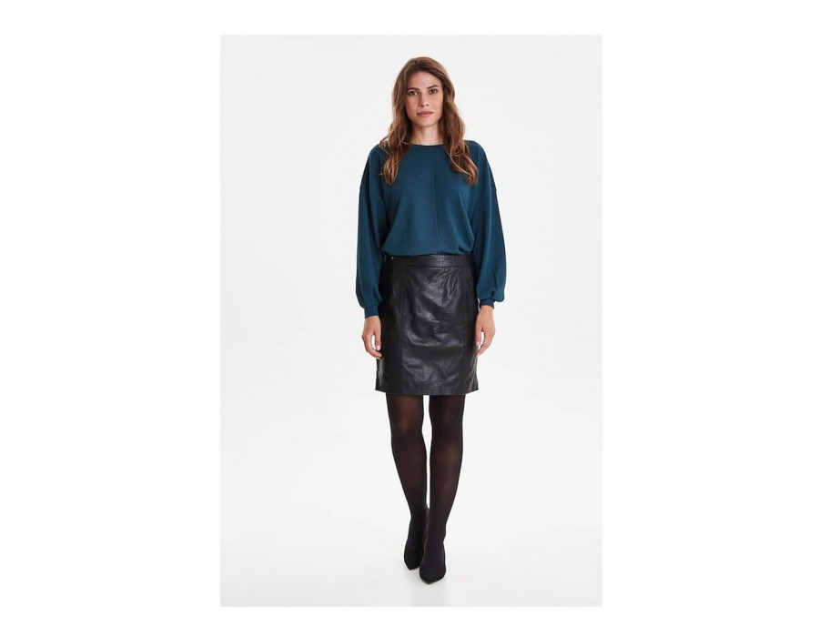 FRFALEATHER SKIRT-31