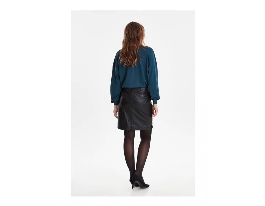 FRFALEATHER SKIRT-01