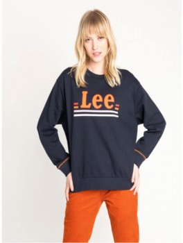 LOGO SWEATSHIRT IN MIDNIGHT-20